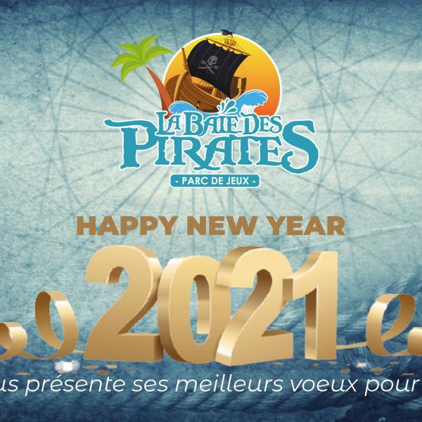 Bonne année 2021 la baie des pirates Craponne